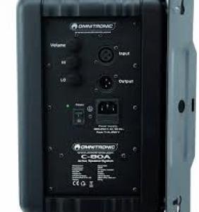 Omnitronic C-80A Par - Svartir