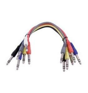 Omnitronic stereo-jack patch 60cm