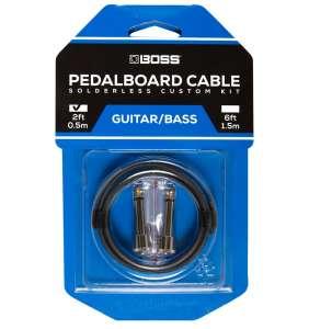 Boss BCK-2 Solderless Pedalb. Cable Kit