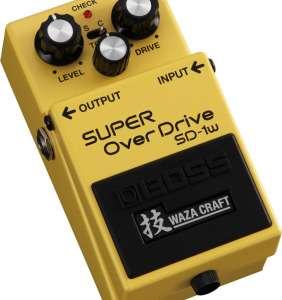 Boss Waza Craft SD-1W Super Overdrive