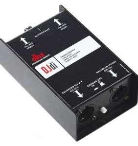 DBX DJdi Stereo Passive DI-Box