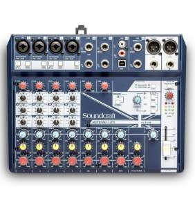 Soundcraft Notepad-12FX mixer