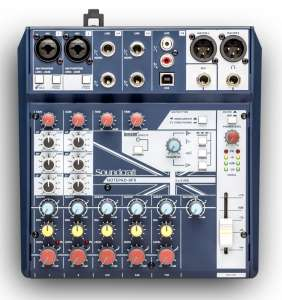 Soundcraft Notepad-8FX mixer