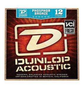 Dunlop Acoustic Phosphor Bronze 12-54