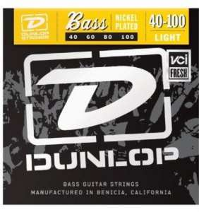 Dunlop Bassastrengir Nickel 40-100 4str.
