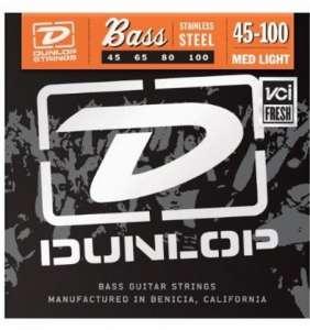 Dunlop Bassastrengir SS 45-100