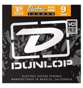 Dunlop Rafgítarstrengir 9-42