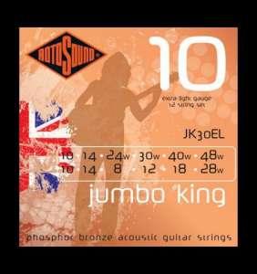 Rotosound Jumbo King 12 strengja 10-48