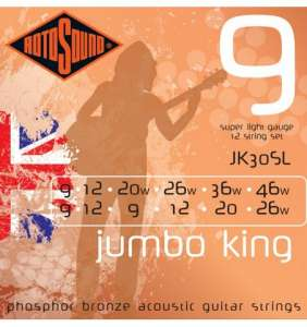 Rotosound Jumbo King 12 strengja 09-46
