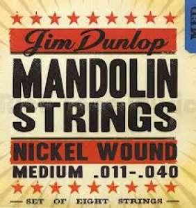 Dunlop Mandolin strengir -Nkl Med