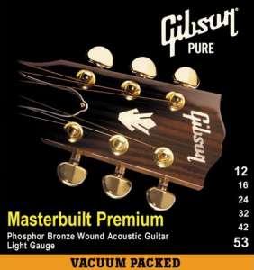 Gibson kassagítarstrengir 12-53