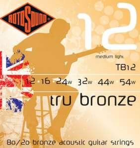Rotosound Tru Bronze 12-54