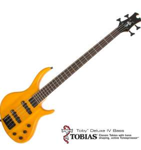 Tobias Toby Deluxe IV trans amber